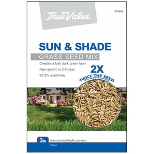 Barenbrug USA Sun and Shade Grass Seed Mix - 3lbs