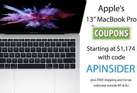 Today's Best Deals: Apple's 13
