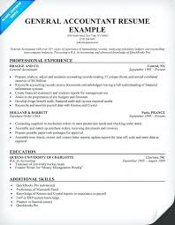 Sample Of General Resume Accountant Ideas Collection Objective Examples