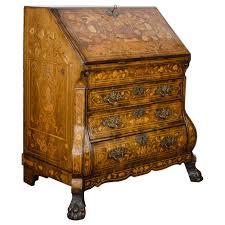 bureau furniture 18th century walnut marquetry bureau for sale at 1stdibs