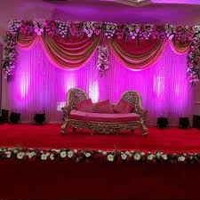 Wedding Stage Decoration Flower In Babu Colony