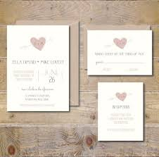 Uncategorized Recycled Wedding Invitations Rustic Heart And Arrow Romantic