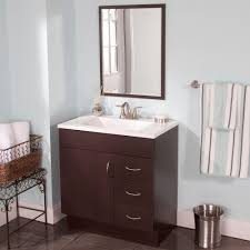 Glacier Bay Laundry Tub Home Depot by All In One Vanity And Sink Laundry Vanity In White And Abs Sink