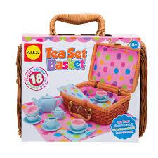Dora The Explorer Kitchen Set Walmart by Alex Toys Tea Set Basket Alexbrands Com