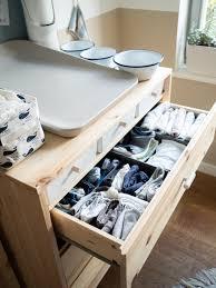 diy wickelkommode für das babyzimmer mit ikea ivar scones