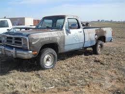 100 1987 Dodge Truck BidCallercom DODGE RAM 1500 Online Auctions
