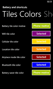 get battery and shortcuts microsoft store