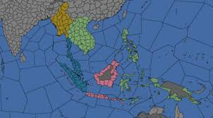 The Regional Divisions Of East Indies Super Region