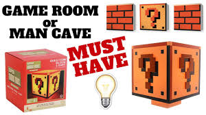 Mario Question Mark Block Lamp by Super Mario Bros Question Block Light Collector U0027s Edition Youtube