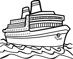 Free Clipart A cruise boat