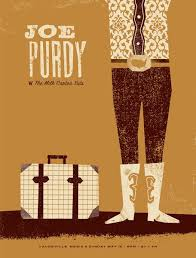 Joe Purdy Design By Basemint Gig PosterConcert