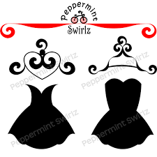 White Dress Clipart Hanger Clipart Pencil And In Color White