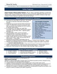 Lead Engineer Sample Resume