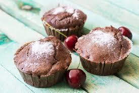 einfache low carb schoko haselnuss muffins