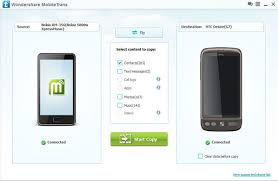 After your Android connect to the program successfully you will be taken to the home window of your phone You can click