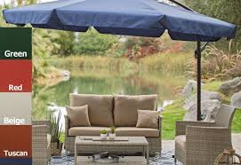 Offset Rectangular Patio Umbrellas by Patio 11 Foot Rectangular Patio Umbrella Exceptional 8 X 11