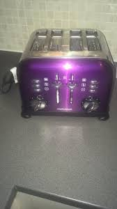 Morphy Richards Purple Toaster