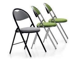 chaise de pliante chaise pliante tapissée maitena contact jmf burotik