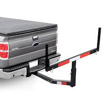 100 Truck Bed Extender Hitch Costway Pick Up Adjustable Steel Extension