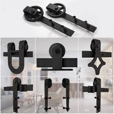 Sliding Barn Door Hardware Hangers Black Carbon Steel Rollers Kit ... Rolling Barn Doors Shop Stainless Glide 7875in Steel Interior Door Roller Kit Everbilt Sliding Hdware Tractor Supply National Decorative Small Ideas Sweet John Robinson House Decor Bypass Diy Tutorial Iu0027d Use Reclaimed Witherow Top Mount Inside Images Design Fniture Pocket Hinges Installation