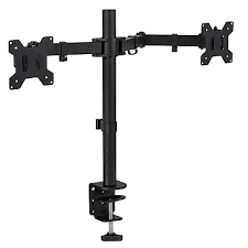 Cpu Holder Under Desk Mount Nz by Monitor Mounts U0026 Stands Staples