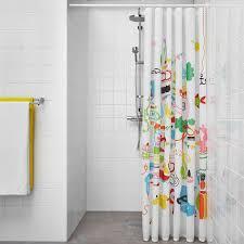 botaren duschvorhangstange weiß 70 120 cm
