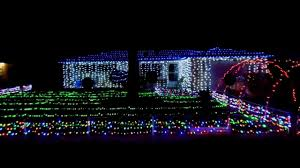 my 2013 mr lights sound led display half