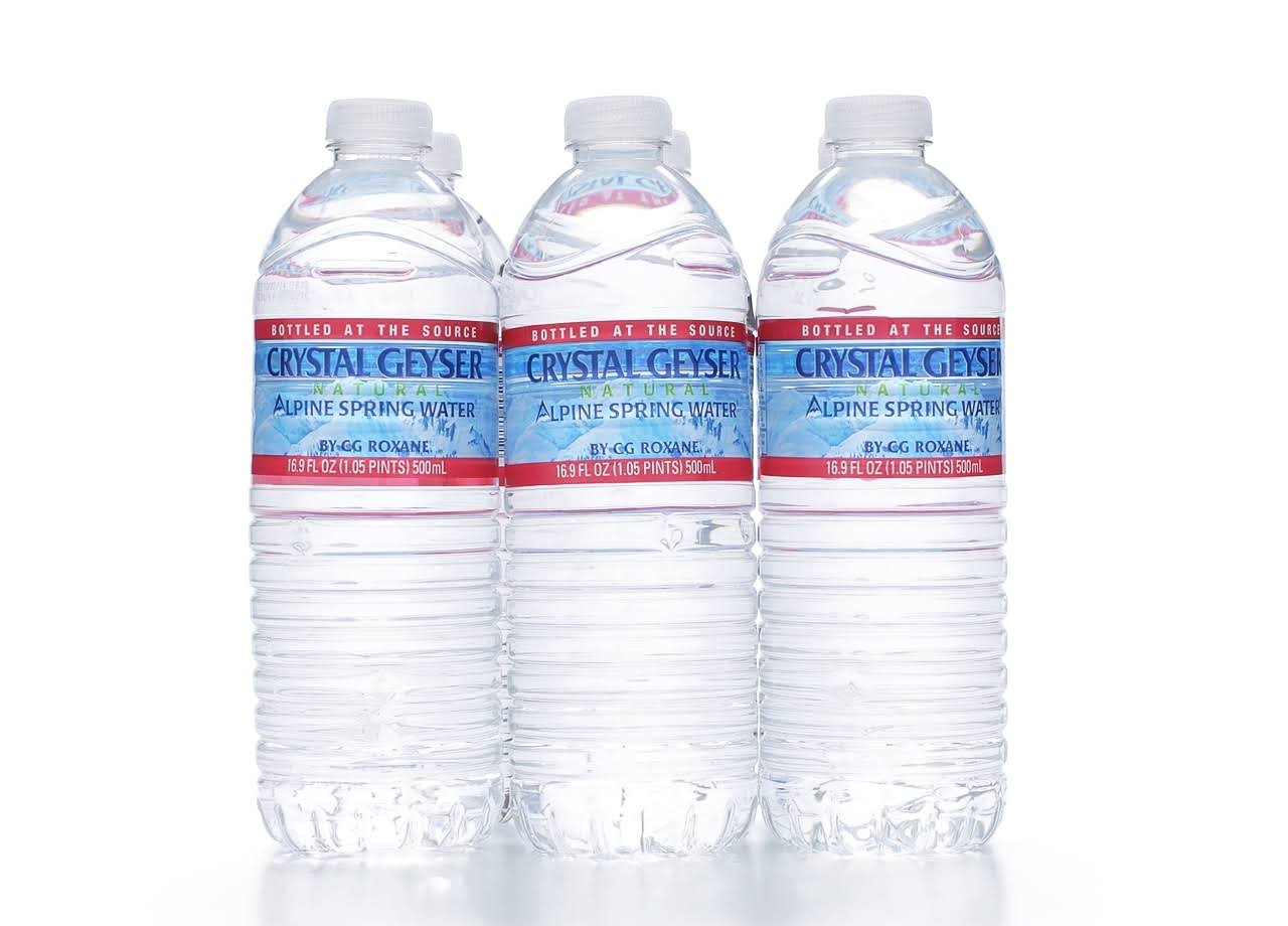 Crystal Geyser Alpine Spring Water - 16.9oz, 6 Count