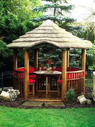 thatched roof garden buildings cape reed thatch tiles ideal for