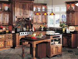 Rustic Kitchens Kitchen With Marble Countertops