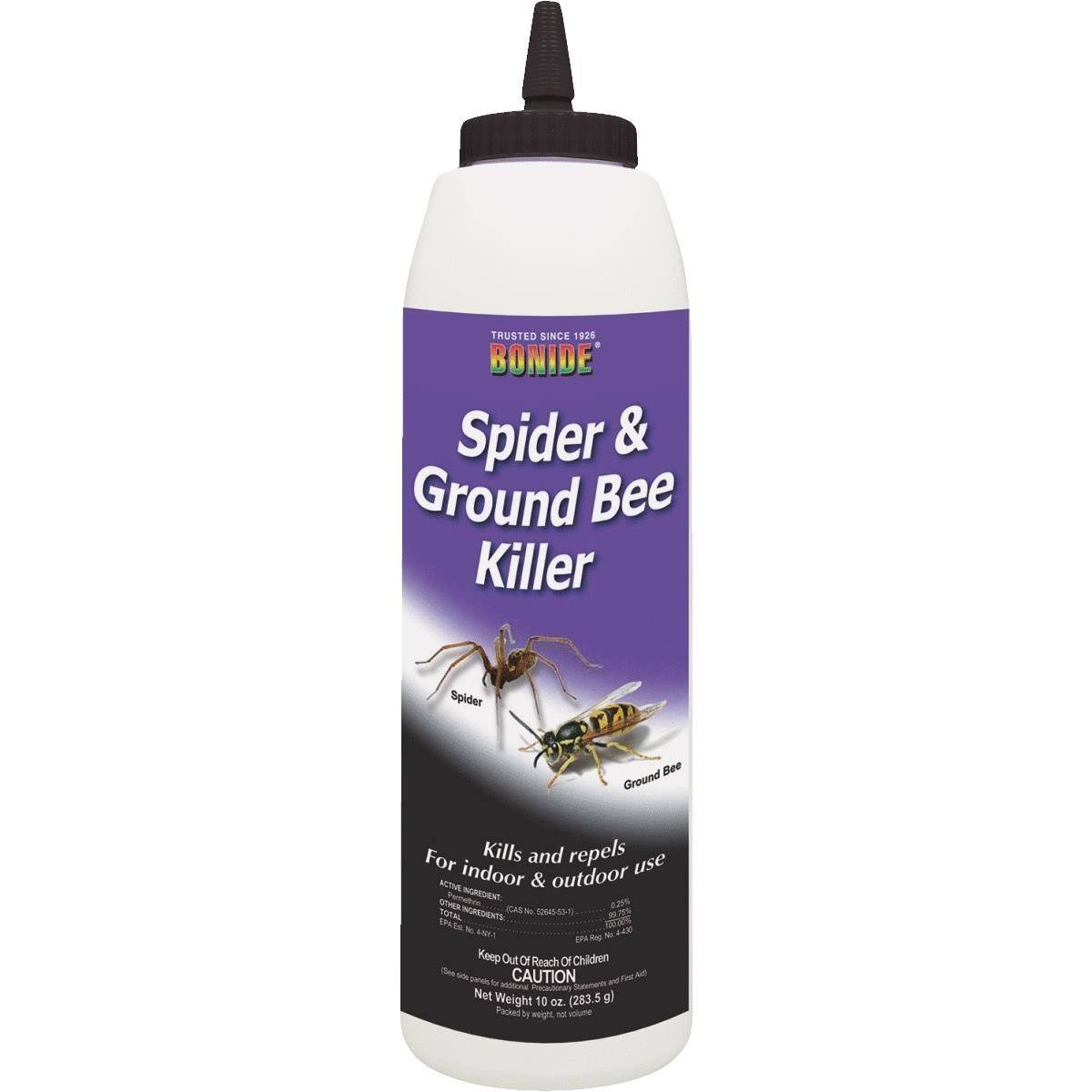Bonide Spider and Ground Bee Killer Home Pest Repellent - 10oz