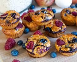 beeren möhren muffins ohne zucker gesunde kinder muffins