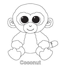 Beanie Boo Coloring Pages Photo 1 Coloring Pages For Juno