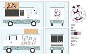 100 Truck Brand Kirsten Larson Holey Donut Food Ing