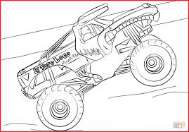 Monster Truck Drawing 146492 Coloriage El Toro Loco Monster Truck ...