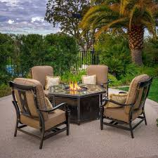 45 Patio Furniture Fire Pit Set, Patio Conversation Sets With Fire ... Hanover Summer Nights 5piece Patio Fire Pit Cversation Set With Amazoncom Summrnght5pc Zoranne 4 Chairs Livingroom Table With Outdoor Gas And Tables Sets Fniture Fresh Ding Shop Monaco 7piece Highding 6 Swivel Rockers And A The Greatroom Company Kenwood Linear Height Alinum Cheap Chair Beautiful Comet 8 Wicker Chat Tank Awesome Top 10 Envelor Oval Brown 7 Piece Poker Stunning