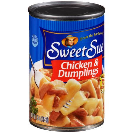 Sweet Sue Soup - Chicken and Dumpling, 15oz, Pack Of 12