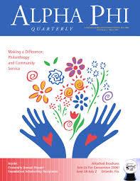 Alpha Illinois Pumpkin Patch by Winter 2006 Alpha Phi Quarterly By Alpha Phi International