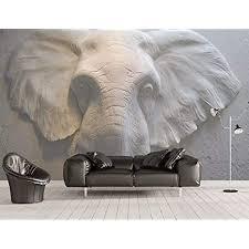 fototapete 3d effekt tapete geprägte elefanten vliestapete 3d wallpaper rne wanddeko wandbilder