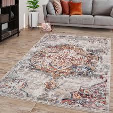 wohnzimmer teppich kurzflor in abstraktem marokkanischen design modern farbe beige größe 160x230 cm