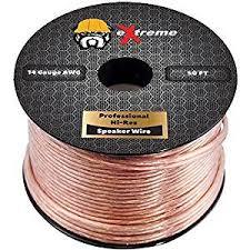 Amazon 50 Feet Pure Copper Core eXtreme Speaker Wire Not CCA