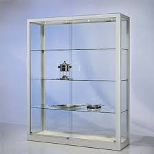 Jewelry Display Cases Custom Glass Wall