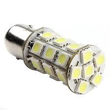 1157 bay15d p21 5w 27smd 5050 car 12v led brake light bulb l white