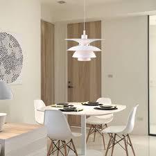 100 Scandinavian Design SCANDINAVIAN DESIGN PH CHARLOTTENBORG PH 54 LAMP WHITE PENDANT LAMP REPLICA MID CENTURY