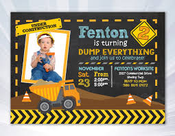 Car Truck Invitation - Boy Invitation - Dump Truck Invitation ... Dump Truck Baby Shower Invitation Hitachi Eh5000 Aciii Gold 187 Trucks Pinterest Cstruction And Tiaras Sibling Birthday Invitations Printed Invites Heavy Equipment Free Christmas Templates New Party Images Of Garbage Design Lovely Invite Digital Clipart Truck Cement Bulldoser Perfect Mold Card Printable Diy Boy Mama A Trashy Celebration Day The Dead Cam Newton In Car Crash With