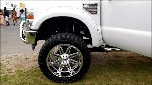 Lifted Ford F250 Superduty On 24s With 38