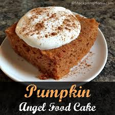 Pumpkin And Cake Mix Weight Watchers by Pumpkin Angel Food Cake Jpg