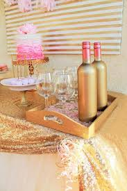 Pink And Gold Birthday Themes by Wedding Theme Pink U0026 Gold Birthday Party Ideas 2147211 Weddbook