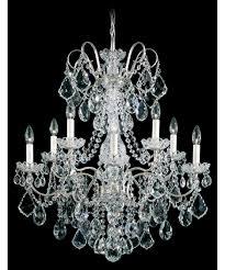 schonbek 3657 new orleans 28 inch wide 10 light chandelier