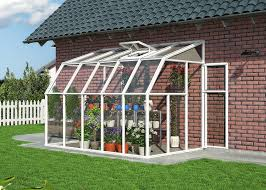 Palram Feria Patio Cover by Rion 6x8ft Sun Room Conservatory White Amazon Co Uk Garden